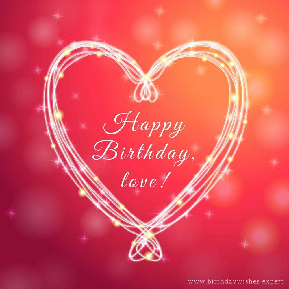 Thing called love romantic birthday wishes for boyfriends happy birthday love m4hsunfo