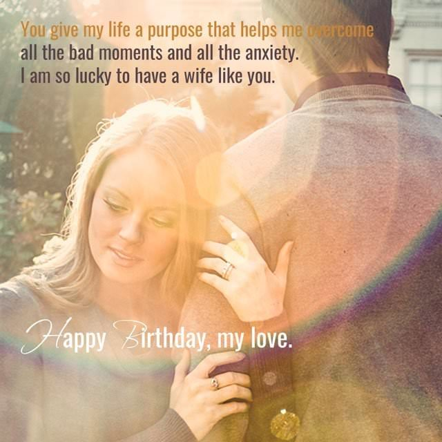 Top 70+ Birthday Wishes For Your Wife