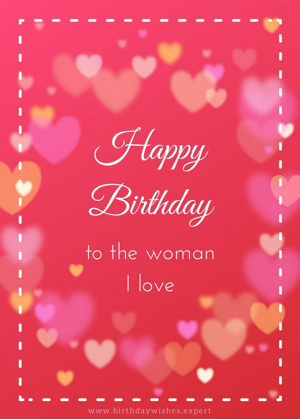Top 70 birthday wishes for your wife happy birthday to the woman i love kristyandbryce Choice Image