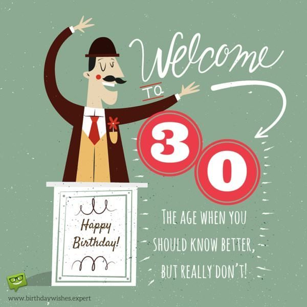 Brilliant Happy 30Th Birthday Funny Birthday Cards Online Overcheapnameinfo