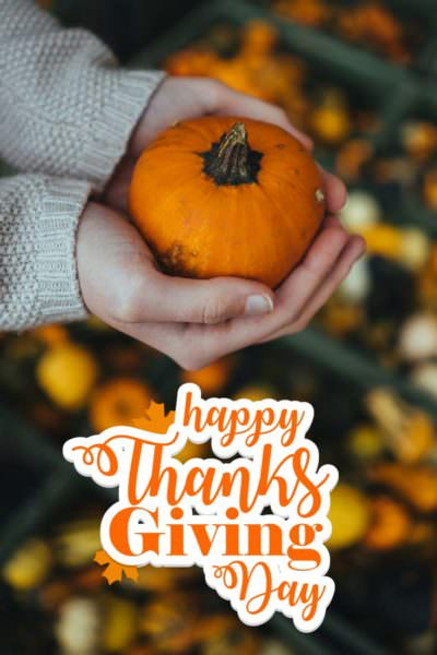 Hapy Thanksgiving day!