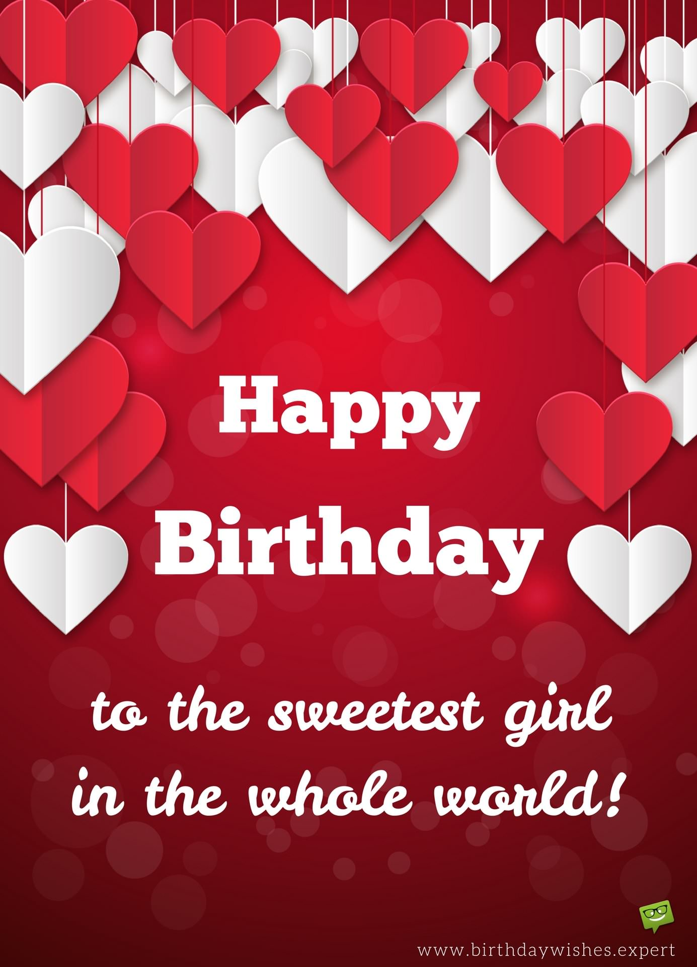 My girls special day birthday wishes for your girlfriend happy birthday to the sweetest girl in the world izmirmasajfo