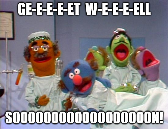 Sick Muppet Get Well Soon Meme