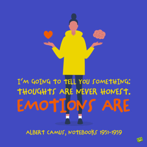 Albert Camus quote to note and share.