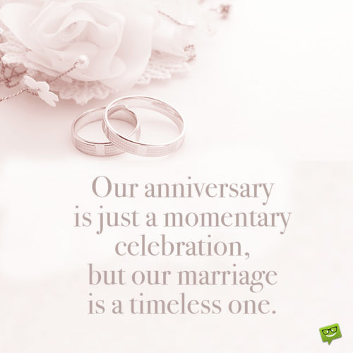 Quote for wedding anniversary.