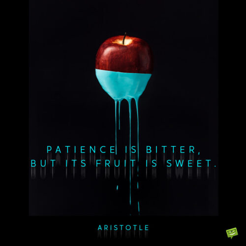 Artistotle quote to inspire you.