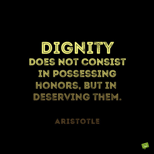 Life quote by Aristotle to give you food for thought.