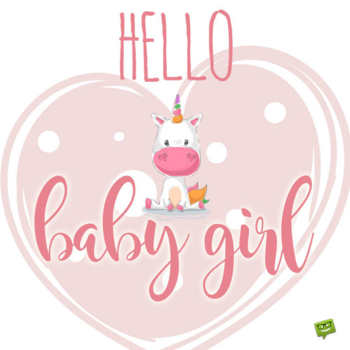 Baby girl wish for chats and emails.