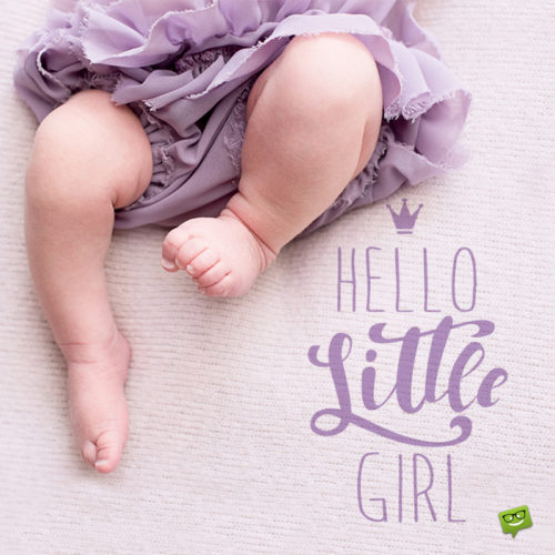 It's a Girl! | Wishes and Congratulations for a Newborn Baby Girl