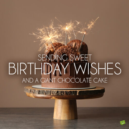 Birthday image with message for a beloved friend.