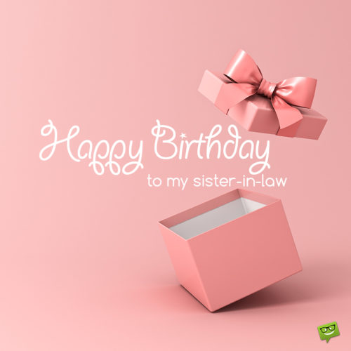 Birthday image for sister-in-law.