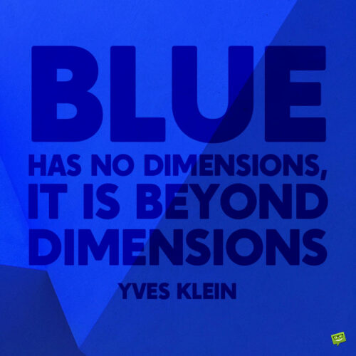 Blue quote to note and share.