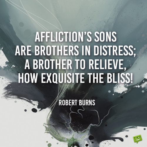 Brother quote.