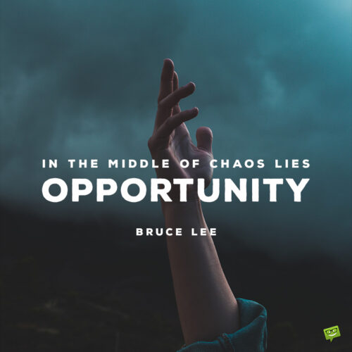 Bruce Lee quote to inspire you.
