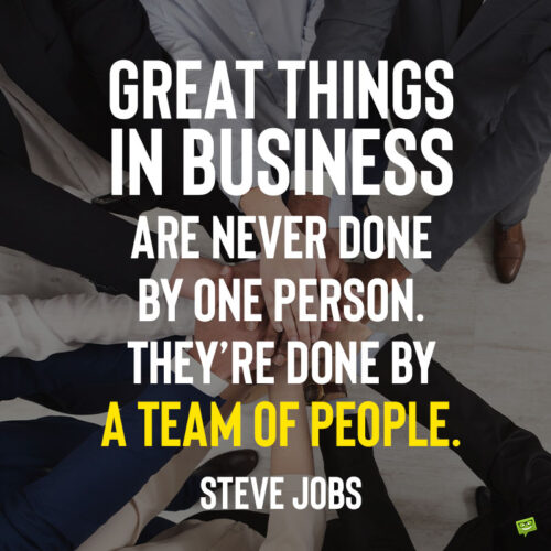 Business quote to note and share.