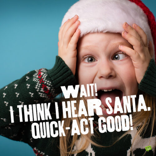 Funny Christmas caption for your photo posts.