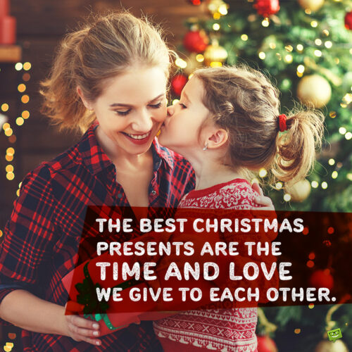 Cute Christmas caption for your Instagram posts with friends and family.