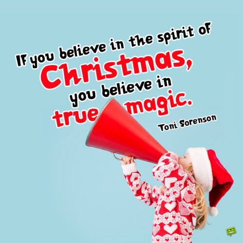 Christmas quote to make you smile.