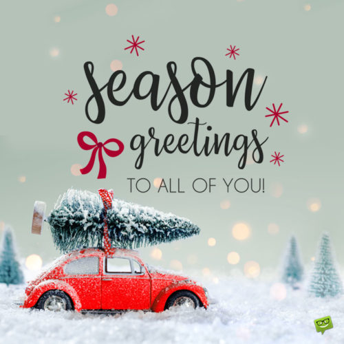 The 250 Warmest Merry Christmas Wishes and Cute Cards with Season's Greetings