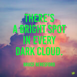 Clouds quote to inspire you positively.