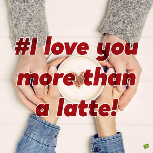 Coffee love caption for your photo posts.
