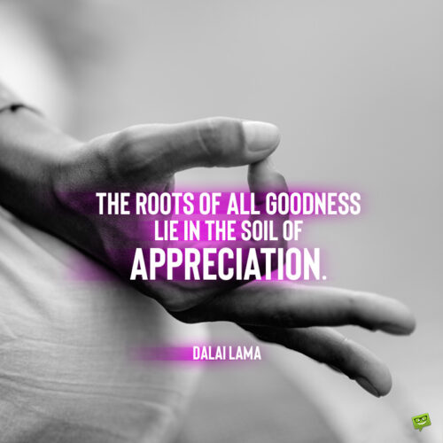 Dalai Lama quote to give you food for thought.