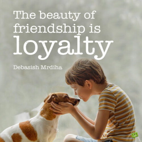 Dog quote to note and share.