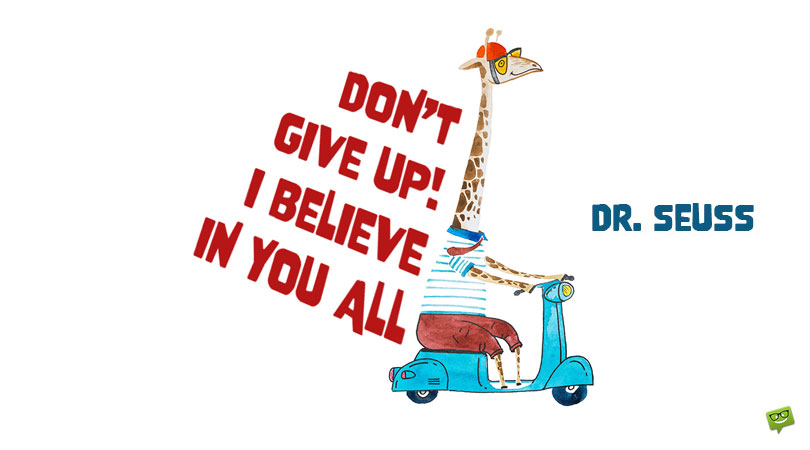Dr. Seuss, His Most Inspiring Quotes