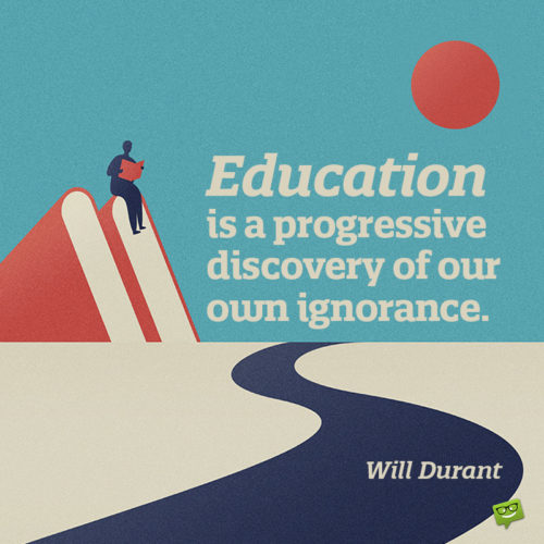 Education quote to make you think.