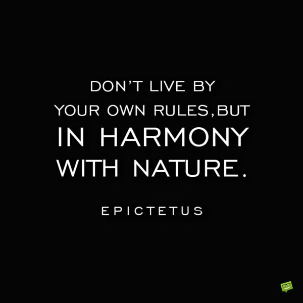 Epictetus life quote to note and share.