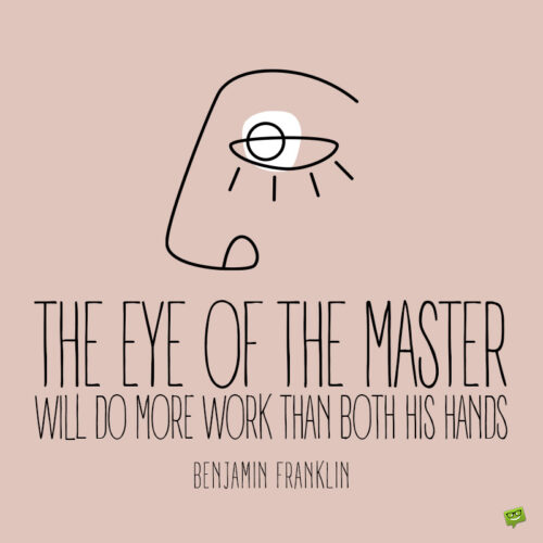 Eyes quote to note and share.