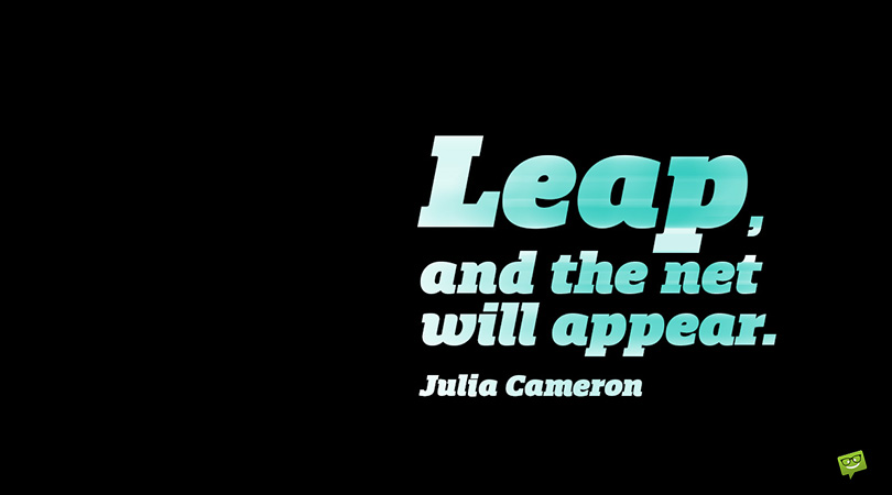 A Very Famous Leap   144 Faith Quotes
