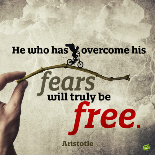 Fear quote to make you think.