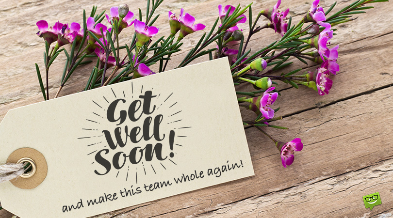 Get Well Soon Messages for Coworker | We Miss You!