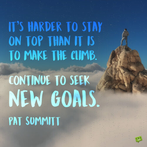 Goal setting quote to note and share.