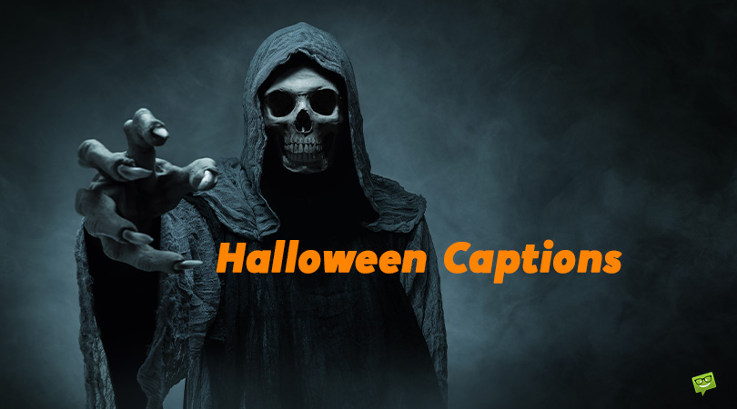31+31 Halloween Captions to Show Off Your Spooky Disguises