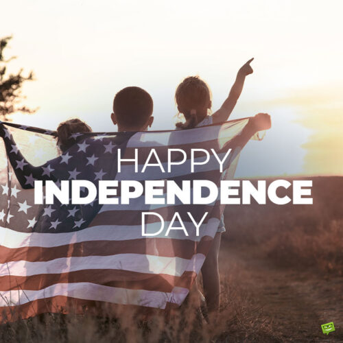 Happy Independence day image to share with friends and family.