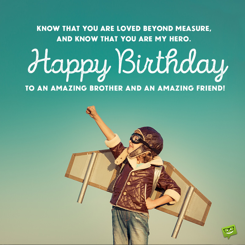 Excellent Happy Birthday Brother Best Birthday Wishes For Your Bro Personalised Birthday Cards Bromeletsinfo