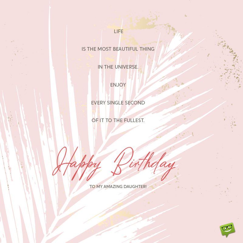 Wondrous Happy Birthday Daughter Wishes For Girls Of All Ages Personalised Birthday Cards Paralily Jamesorg