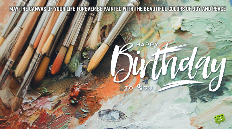 Art, Baby!   Happy Birthday for Artists, Dancers and Musicians