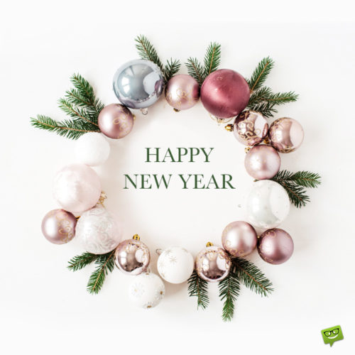 Happy New Year image to help you wish to your loved ones.