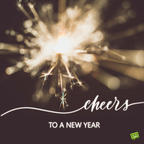 Happy New Year image to help wish to colleagues but also friends and family.