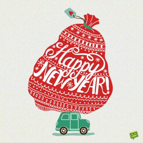 Happy New Year image for chats, posts, messages and status updates.