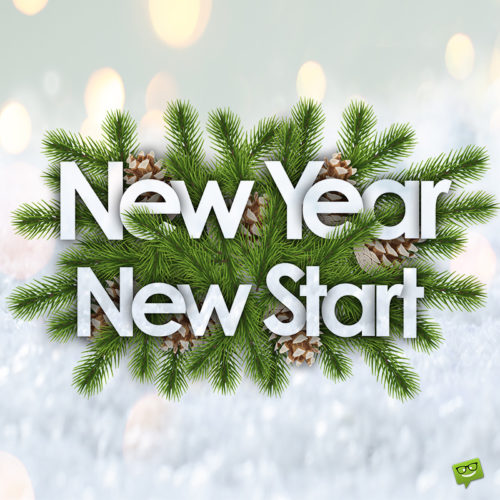 Happy New Year image for chats, messages and social media.