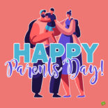 Image to share on National Parents' Day.