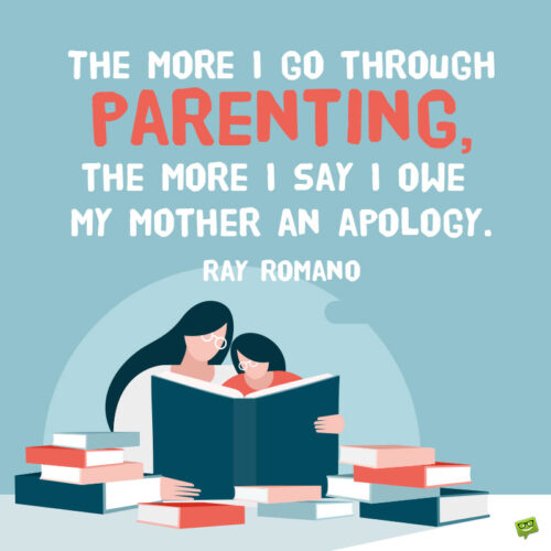 Quote for national parents' day.