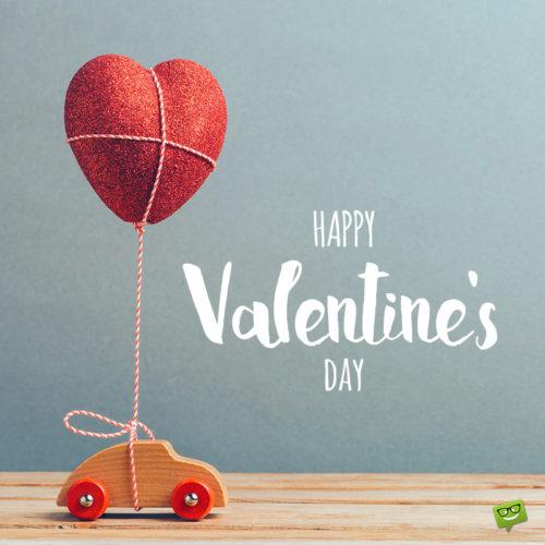 Cute Happy Valentine's day wish.