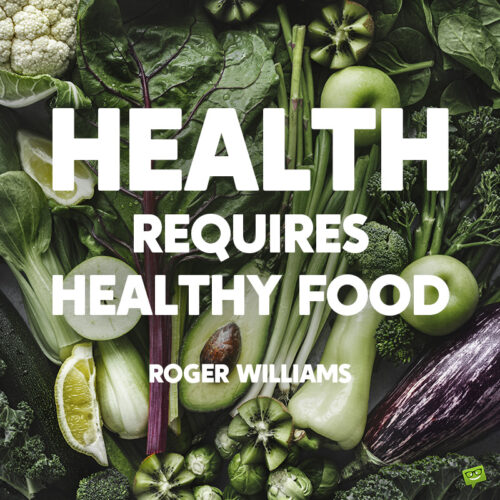 Health quote to note and share.