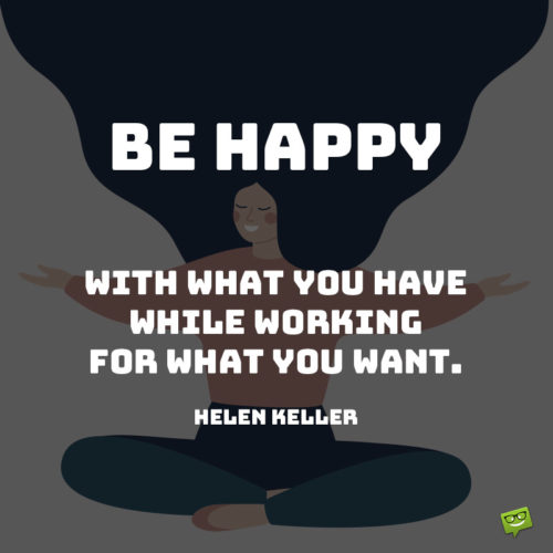 Helen Keller quote to inspire you.