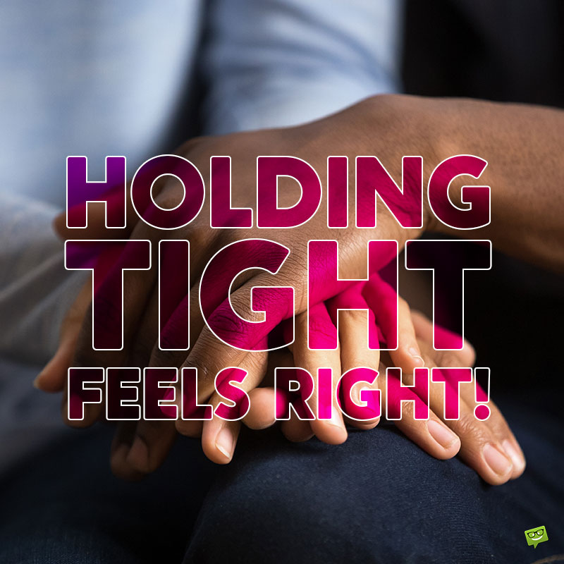 Love quotes on holding hands